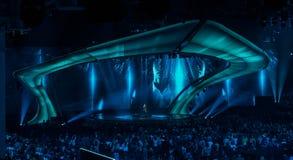 Eurovision 2017 em Ucrânia foto de stock