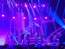 Eurovision i Ukraina, Kyiv 05 13 2017 ledare Eurovisien Royaltyfri Foto