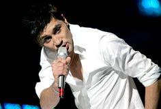 Eurovision-Lied, Russland, Dima Stockfotografie