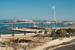 Eurovision-Schauplatz für 2012 lizenzfreies stockbild