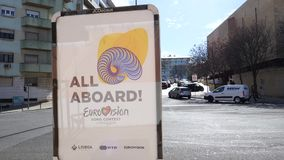 Eurovision song contest 2018 banner