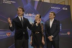 EUROVISIONS-LIED-WETTBEWERB 2014 Stockbild