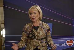EUROVISIONS-LIED-WETTBEWERB 2014 Stockfotografie
