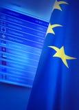 Eurowechselkurse Stockbilder