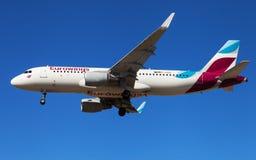 Eurowings Airbus A320 Fotografia de Stock Royalty Free
