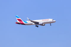 Eurowings Airbus A320 Fotografía de archivo libre de regalías