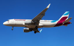 Eurowings Airbus A320 Royalty Free Stock Photography