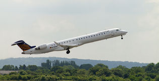 Eurowings Bombardier CJ900 Royalty Free Stock Photography