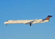 Eurowings Bombardier CRJ-900 Stock Photography