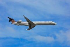 Eurowings-Bombenschütze CRJ-900 Stockbild