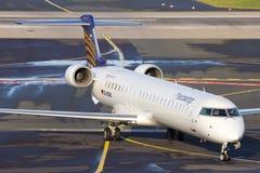 Eurowings Canadair CRJ-900LR Stock Photo