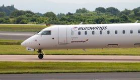 Eurowings Canadair Regional Jet CRJ-900 Royalty Free Stock Image