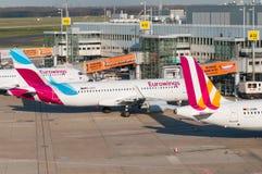 Eurowings flygbuss A320 Royaltyfria Bilder