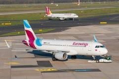 Eurowings flygbuss A320 Arkivbilder