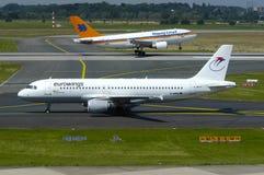 Eurowings flygbuss A320 Royaltyfri Bild