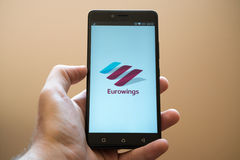 Eurowings Royalty Free Stock Photography