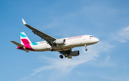 Eurowings Plane Stock Image