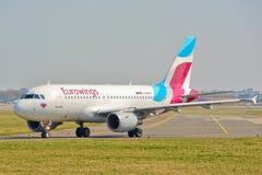 Eurowings plane view Stock Photo