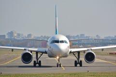 Eurowings plane view Royalty Free Stock Photo