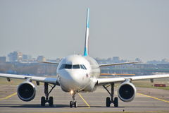 Eurowings plane view Stock Photography