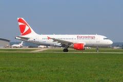 Eurowings A 320 stockbilder