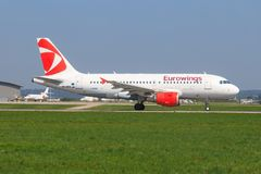 Eurowings A 320 stock images