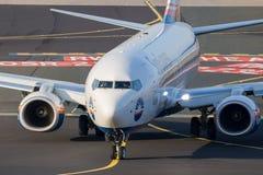 Eurowings SunExpress波音737飞机 库存图片