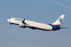 Eurowings SunExpress Boeing 737 airline Royalty Free Stock Images