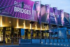 Eurowizyjnej piosenki konkurs 2015 w Wiedeń, sławna europejska muzyka co Fotografia Royalty Free