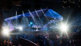 Eurowizyjny 2017 w Ukraina Obraz Stock