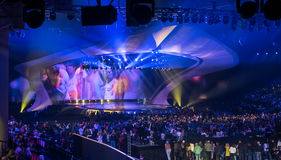 Eurowizyjny 2017 w Ukraina Fotografia Stock