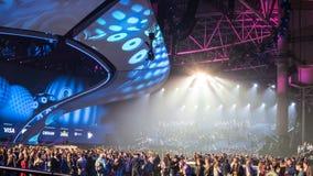 Eurowizyjny 2017 w Ukraina Zdjęcia Stock