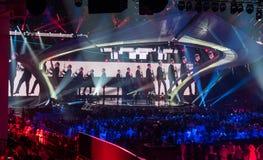 Eurowizyjny 2017 w Ukraina Obrazy Stock