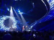 Eurowizyjny w Ukraina, Kyiv 05 13 2017 editorial Eurovisi Zdjęcia Royalty Free