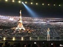 Eurowizyjny w Ukraina, Kyiv 05 13 2017 editorial Eurovisi Fotografia Royalty Free