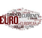 Eurowortwolke lizenzfreie abbildung