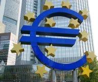 Eurozeichen Lizenzfreie Stockfotografie