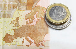 eurozon Royaltyfri Foto
