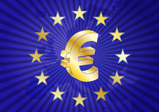 Eurozone Lizenzfreie Stockfotos