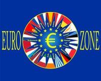 Eurozone Obrazy Royalty Free