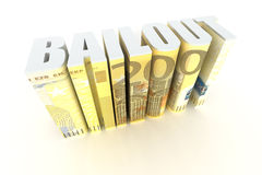 Eurozone Bailout Royalty Free Stock Image