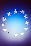 Eurozone crisis Stock Images