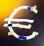 Eurozone crisis Royalty Free Stock Photography
