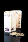 Eurozone di crisi Fotografia Stock