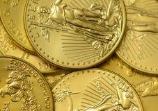 Eurozone Euro munt, gedeeltelijke mening van bankbiljetten Royalty-vrije Stock Afbeeldingen