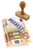 Eurozone financial crisis Stock Image