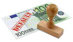 Eurozone financial crisis royalty free stock images