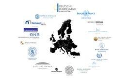 Eurozone Royalty Free Stock Photos