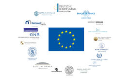 Eurozone Royalty Free Stock Photography