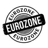Eurozone rubber stamp Stock Photos